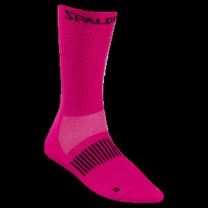 spalding colored socks pink