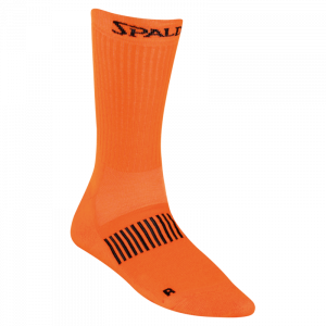 spalding colored socks orange