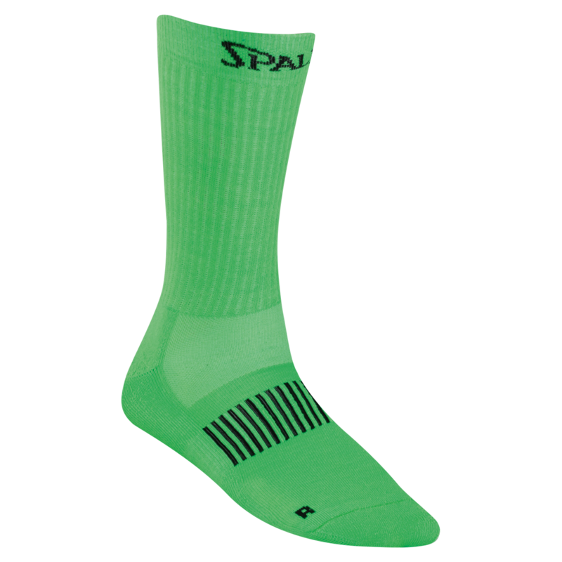 spalding colored socks grün