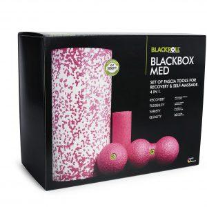 Blackroll med set weiß pink alt