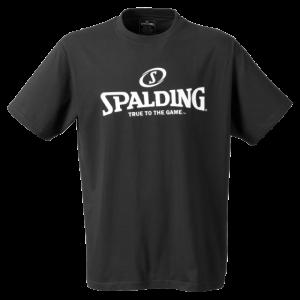 Spalding Shirt schwarz