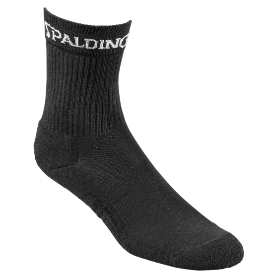 Spalding Crew Socken schwarz