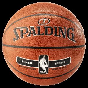 Spalding Basketball NBA Gold Silber alt