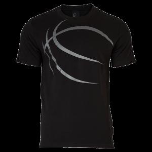 Spalding Street T-Shirt schwarz