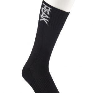 Peak Socken Schrift schwarz alt