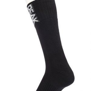 Peak Socken Schrift schwarz