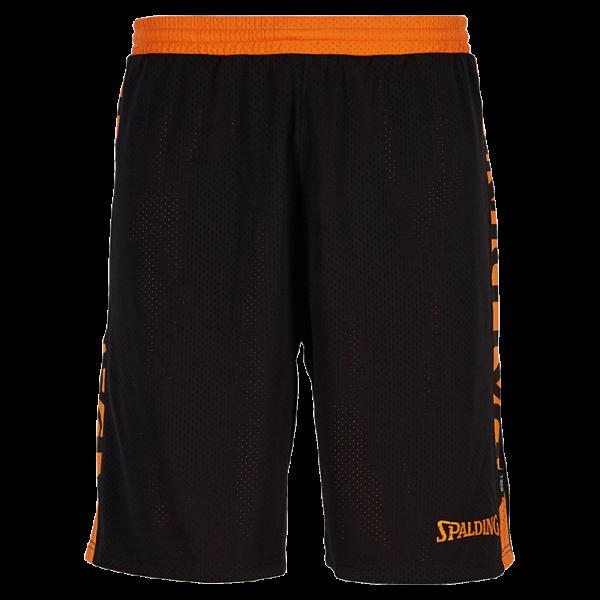 Spalding Shorts schwarz orange