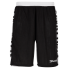 spalding shorts black front