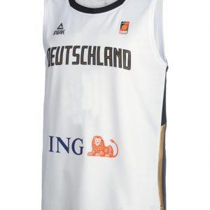 Deutschland Basketball Trikot weiß
