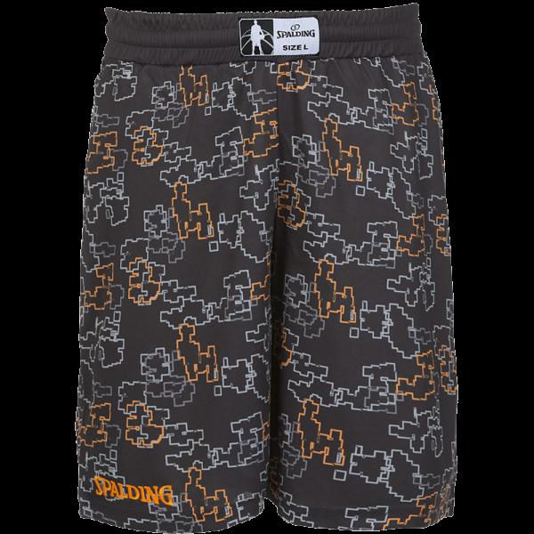 Spalding Street Shorts schwarz orange